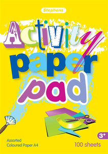 Stephens A4 Activity Pad 100 Sheets