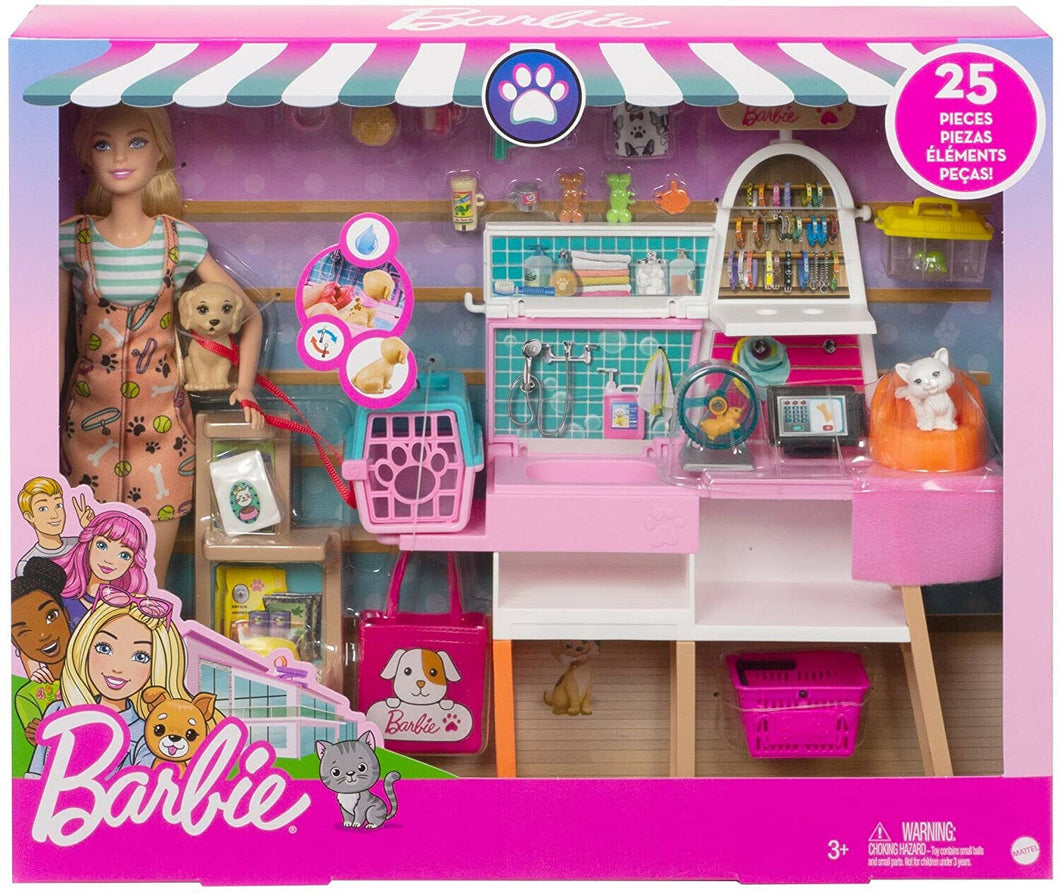 Barbie Pet Supply Store Playset
