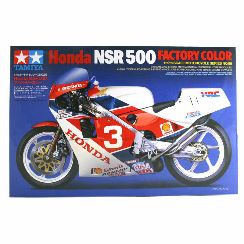 Tamiya 14099 Honda NSR 500 Factory Colour 1/12th Model Kit