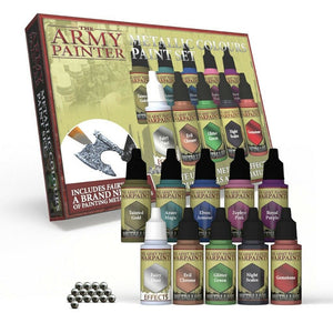 Army Painter Metallic Colours Set WP8048
