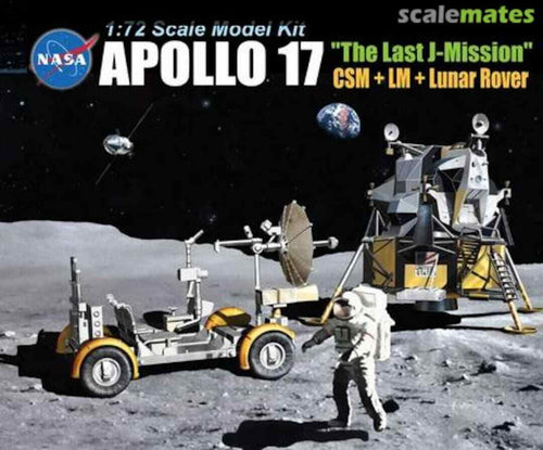 DRAGON 11015 Apollo 17 'The Last Mission' 1:72