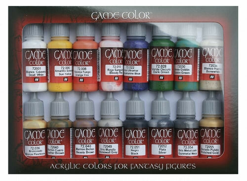 AV Vallejo 72299 Game Color Set - Introduction Set
