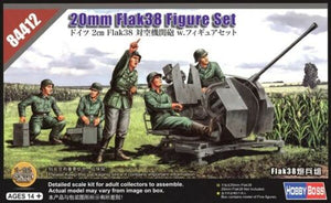 Hobbyboss 84412 1:35th scale German 20mm Flak38 Figure Set