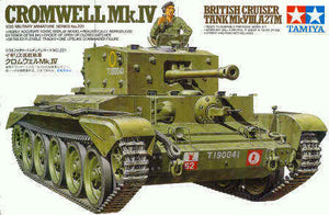 Tamiya Cromwell Mk.IV Tank Model Set Scale 1:35 35221