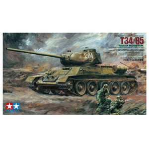 TAMIYA 1/35 No.138 RUSSIAN MEDIUM TANK T34/85 Kit 35138
