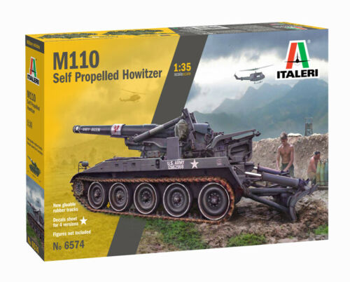 Italeri 1/35 6574 M110 Self Propelled Howitzer