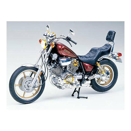 Tamiya Yamaha Virago XV1000 Model Set Scale 1:12 14044