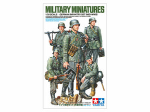 TAMIYA German Infantry Set (Mid WWII) 1:35 Model Kit