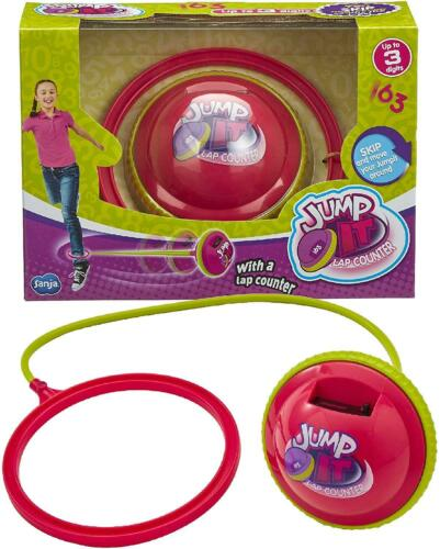 Jump It Lap Counter Kids Childrens Skipping Fitness Toy For Outdoor/Indoor Play