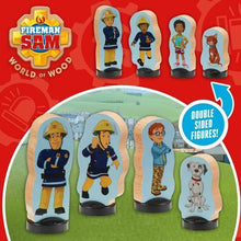 Load image into Gallery viewer, Character FIREMAN SAM WOODEN FOUR FIGURE PACK