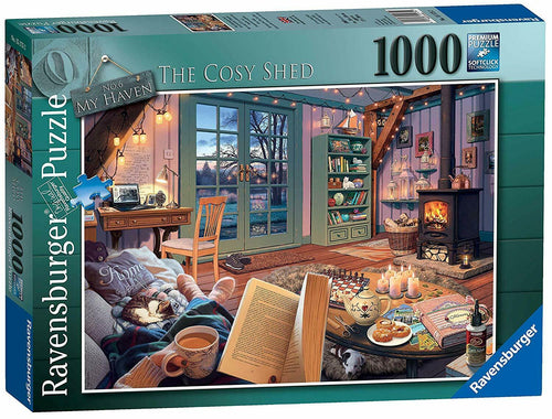 Ravensburger 1000 Piece Jigsaw 15175 The Cosy Shed