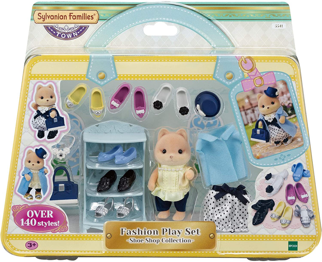 Sylvanian Families 5541 Fashion Play Set Shoe Shop Collection
