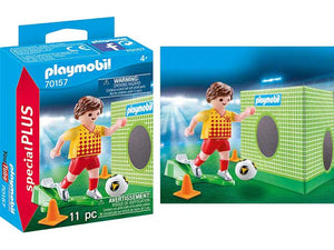 Playmobil 70157 Special Plus Soccer Player With Goal