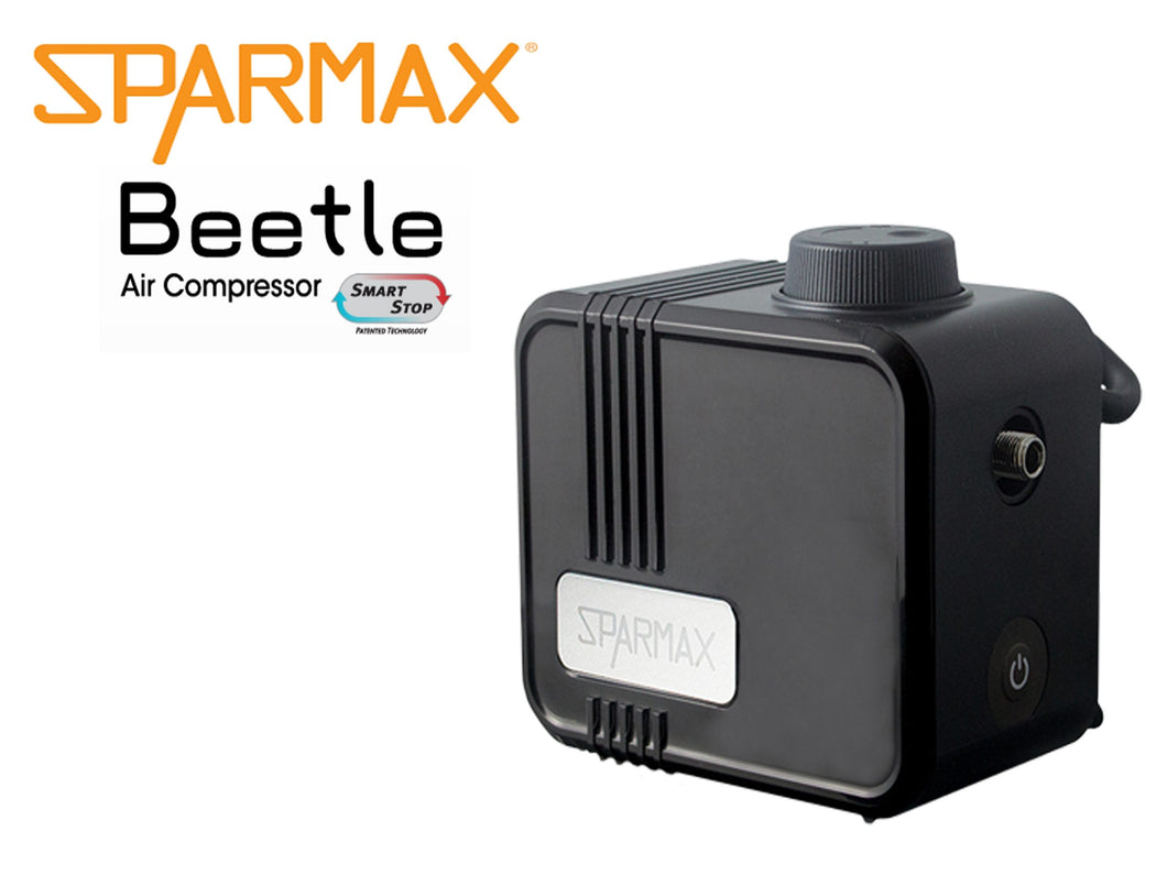 Sparmax Beetle with Smart Stop Hanger air compressor