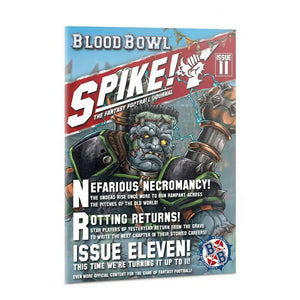 Games Workshop Warhammer Blood Bowl Spike! Issue 11