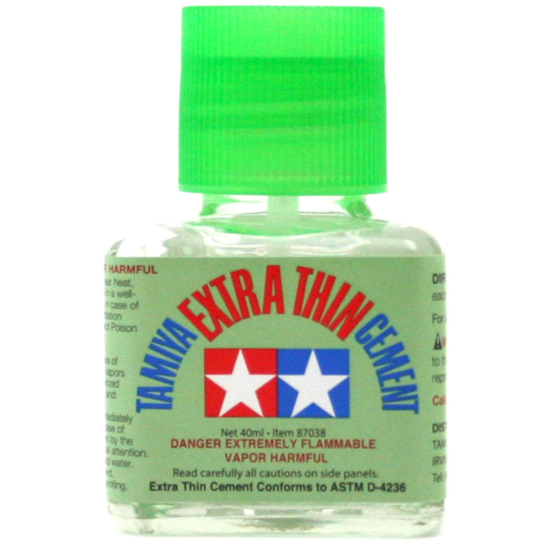 Tamiya  87038 Extra Thin Liquid Cement 40ml