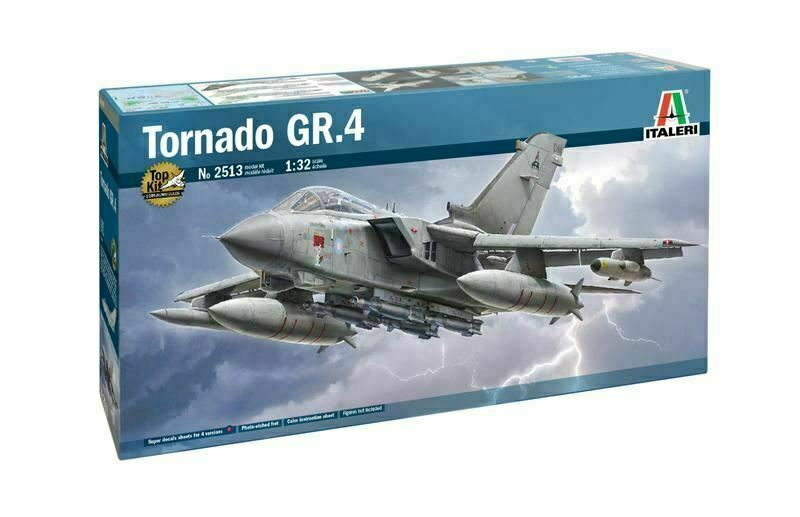 ITALERI RAF TORNADO GR.4 - 2513 1/32 Scale Model Aircraft Kit