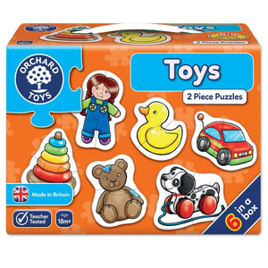 Orchard Toys, Toys Two Piece Puzzles