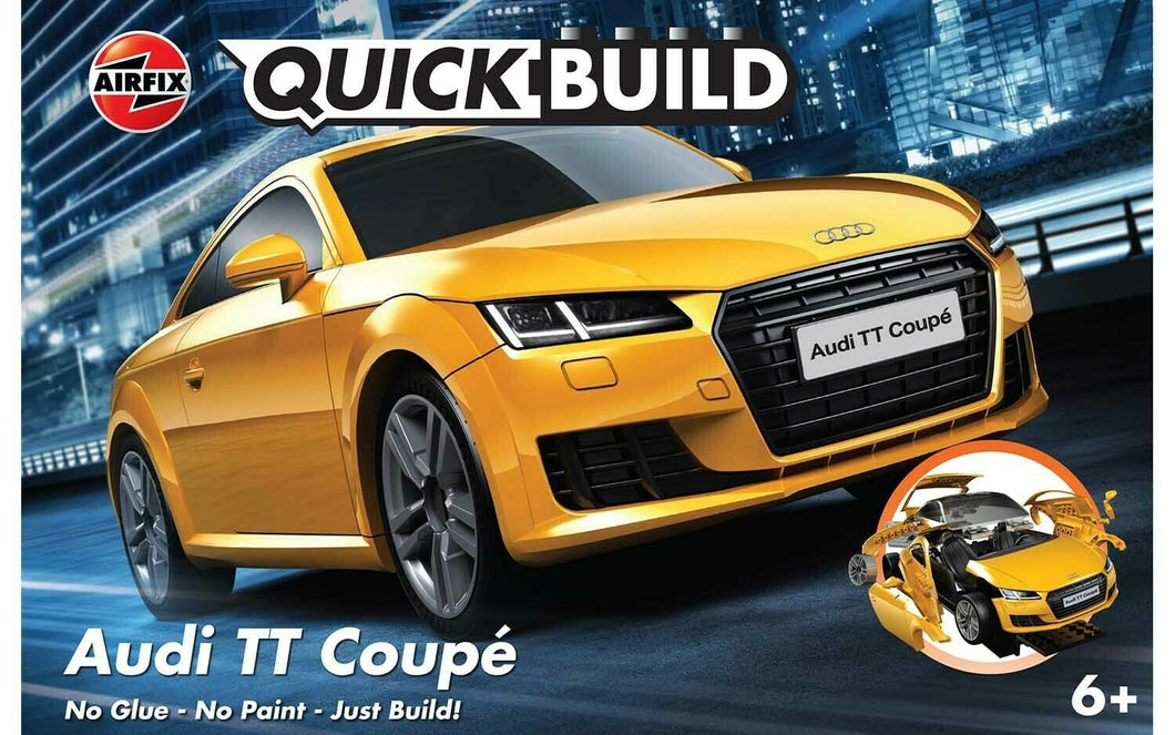 Airfix QuickBuild Audi TT Coupe