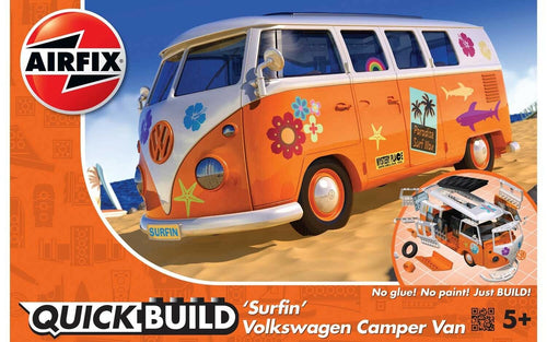 Airfix J6032 QUICK BUILD VW Camper Van Surfin