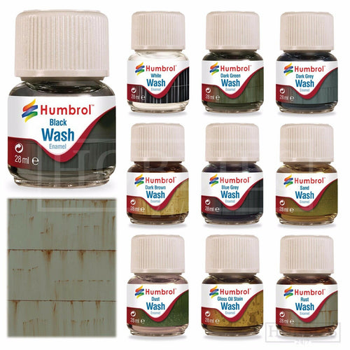 Humbrol Enamel Wash 28ml