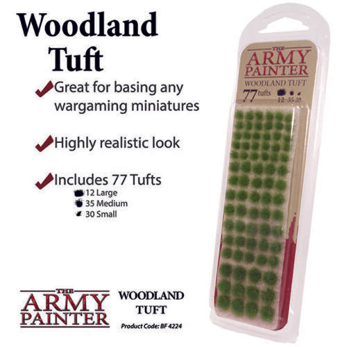 The army painter woodland 77 tufts