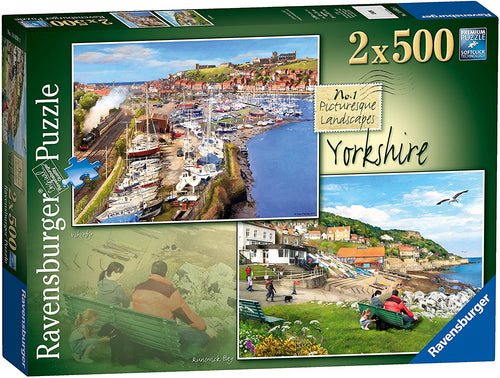 Ravensburger 14050 Picturesque Yorkshire 2x500 piece jigsaw