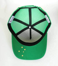 Load image into Gallery viewer, Barkly & Co Trucker Cap - Southern Series Green & Gold Trucker Caps BarklyCo