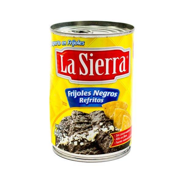 Refried Black Beans, La Sierra