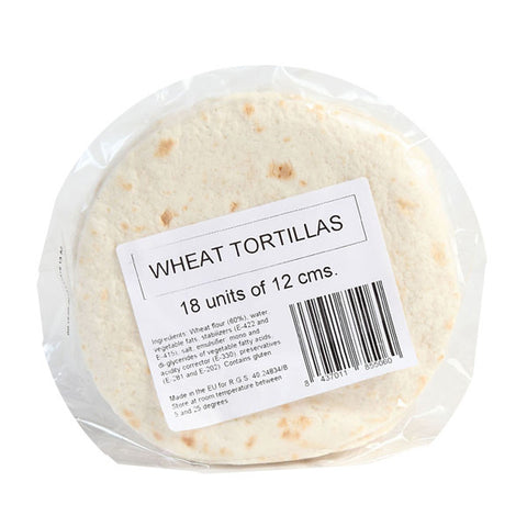 Wheat Tortillas, Mini