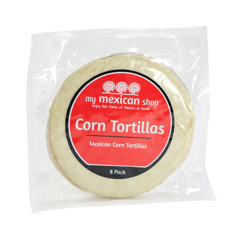 Corn Tortillas, 8 Pack
