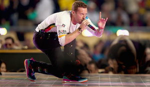 Chris Martin brings Global Citizen center stage at Super Bowl