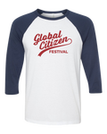 GCF Baseball Tee - Navy/Red
