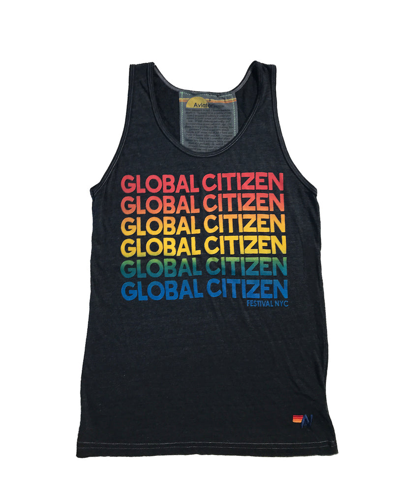 Global Citizen x Aviator Nation Unisex Tank