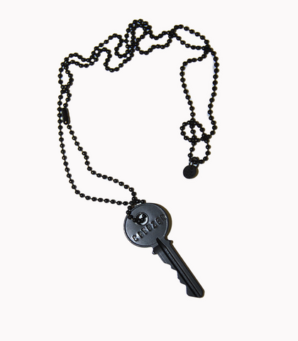 Matte Black Giving Key for Global Citizen