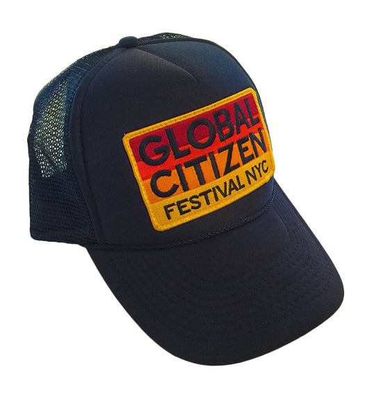 Global Citizen Festival Trucker Hat by Aviator Nation