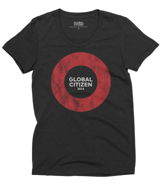 Global Citizen Montreal Official T-Shirt (Ladies)