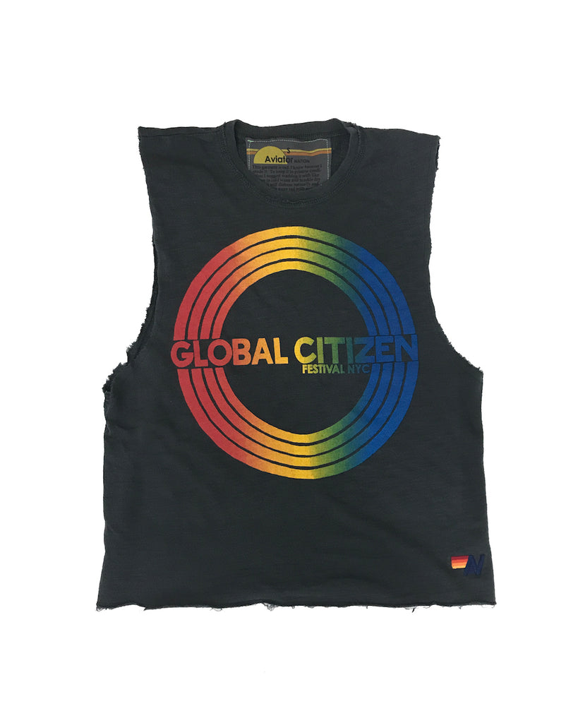 Global Citizen x Aviator Nation Muscle Tank