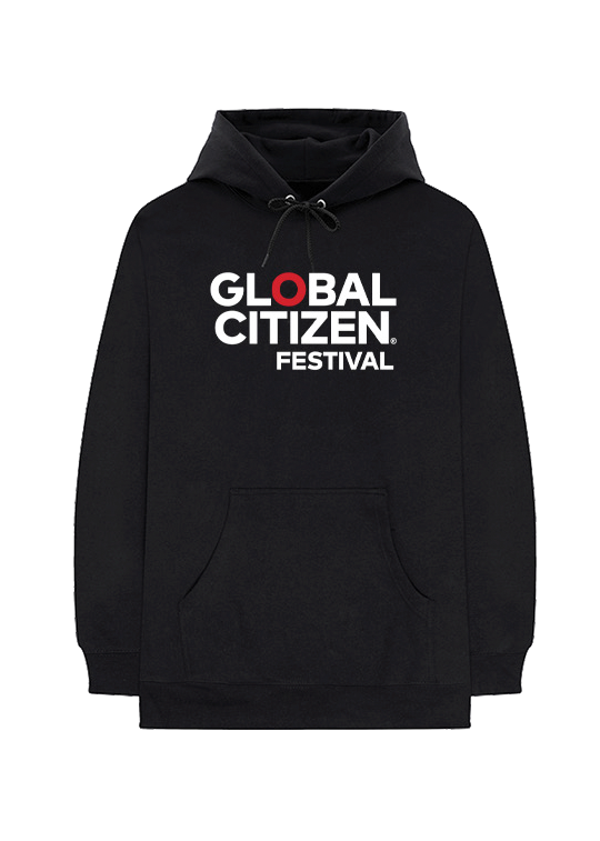 "Global Citizen Festival ""O"" Lineup Hoodie - Black"