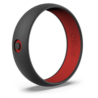 Enso X Global Citizen Silicone Ring - Black & Red