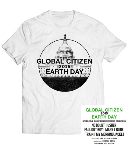 Global Citizen 2015 Earth Day Tee - White by H&M