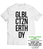 Global Citizen 2015 Earth Day Words Tee - White by H&M