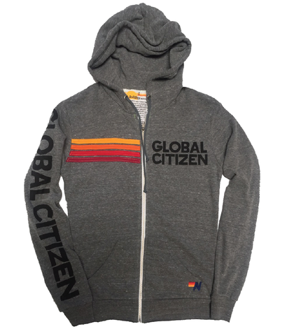Global Citizen x Aviator Nation Sweatshirt - Heather Grey