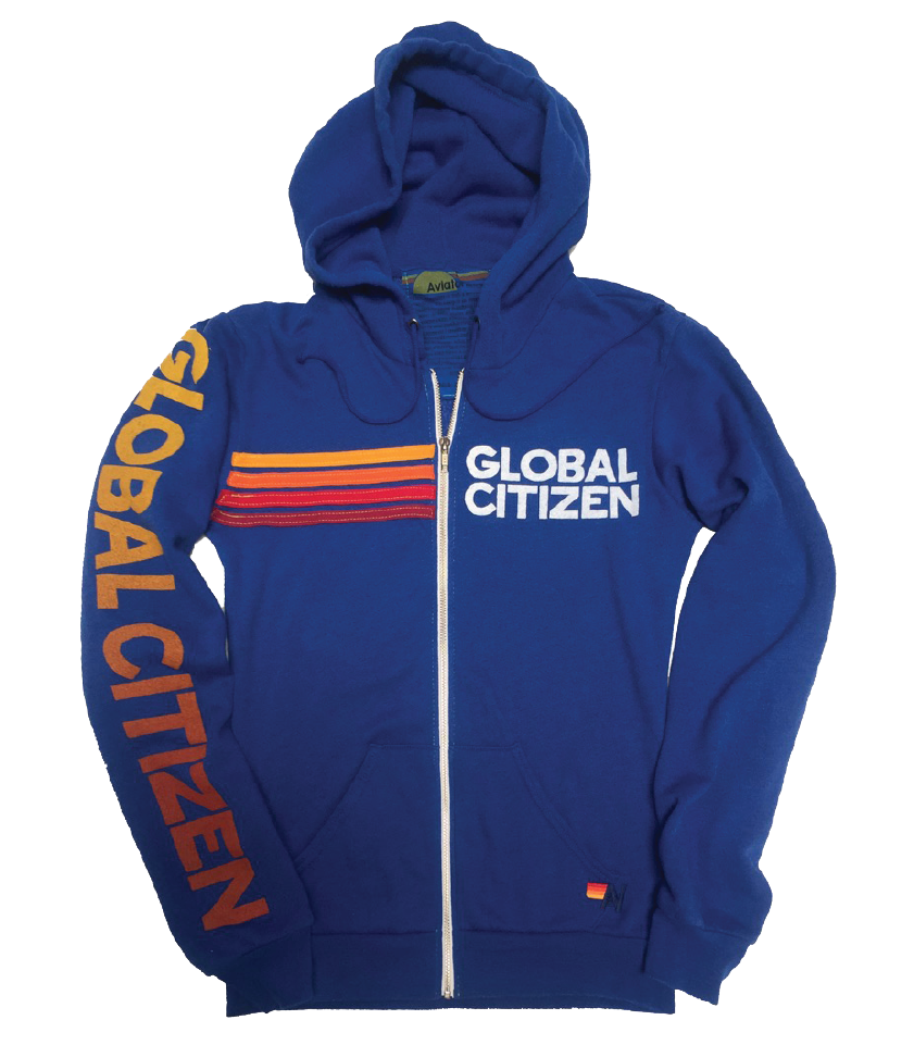 Global Citizen x Aviator Nation Sweatshirt – Ocean