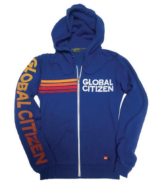 Global Citizen + Aviator Nation Sweatshirt – Ocean