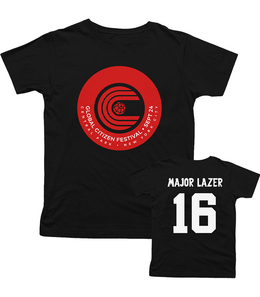 Major Lazer T-Shirt Festival 2016