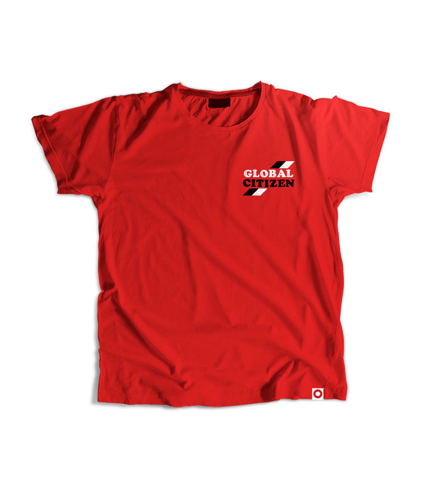 Stamp Graphic T-Shirt - Red