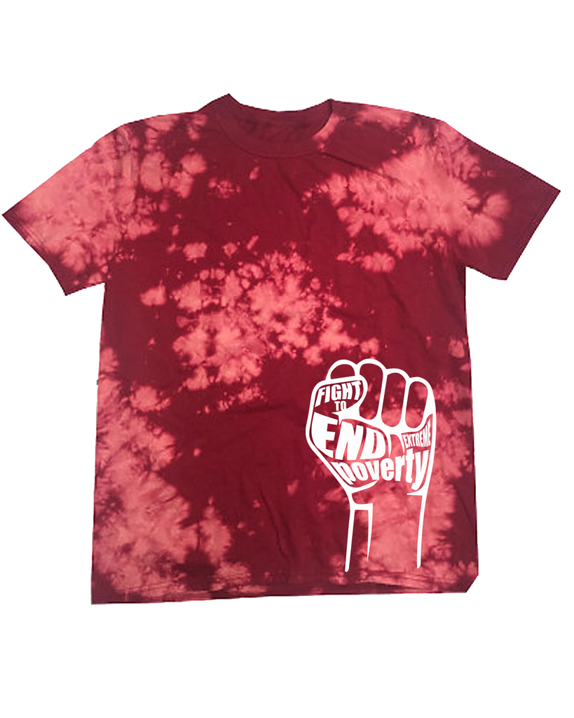 Awareness Bleached Tee