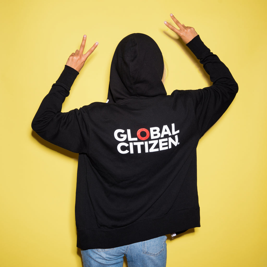 Prinkshop x Social Goods x Global Citizen Zip Hoodie