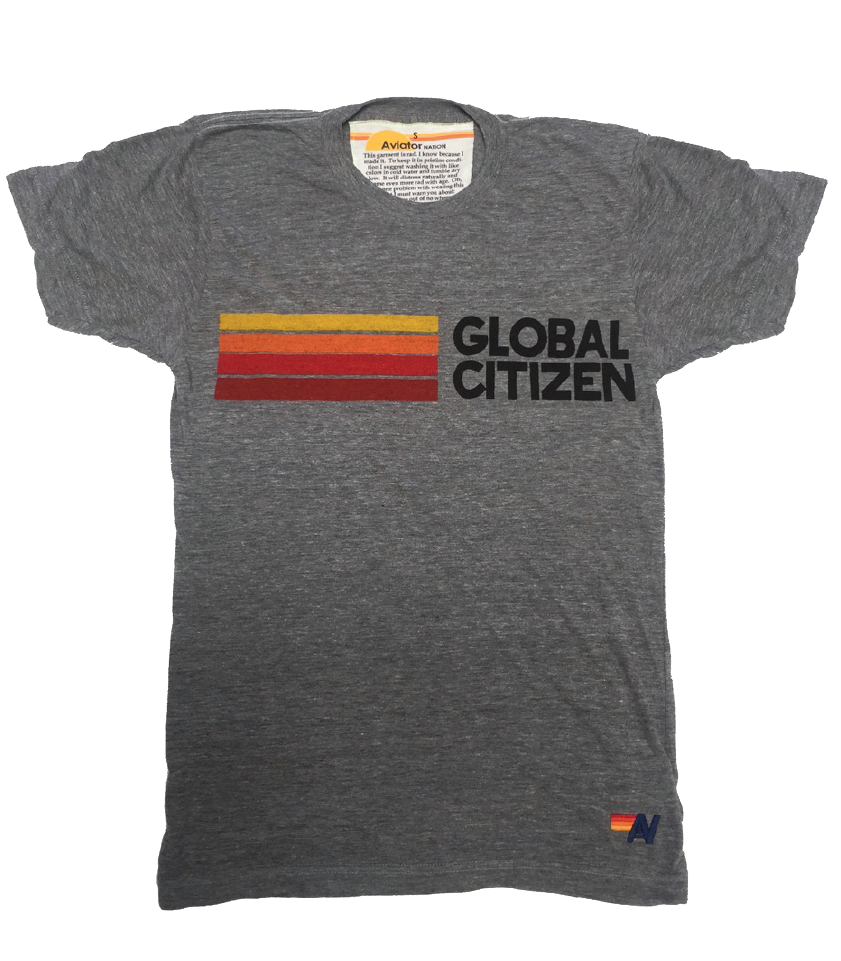 Take Action – Global Citizen + Aviator Nation T-Shirt